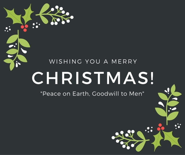 %22Peace on Earth, Goodwill toward Men%22