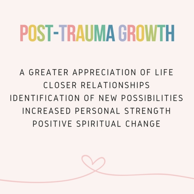 post trauma growth new